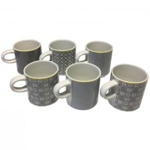 Confezione 6 tazze da caffè Mosaïque 12 cl