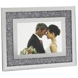 Porta foto grande strass e specchio
