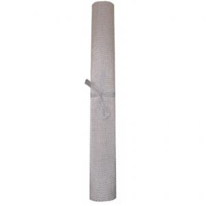 Tavolo sintetico grigio 50 x 150 cm