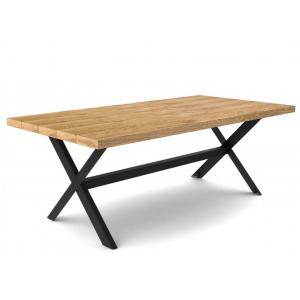 Tavolo da pranzo rovere chiaro 160 cm