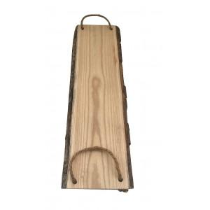 Piano rettangolare in legno e corda L.54,5 x l.16 cm