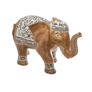 Elefante decorativo in resina H.11cm