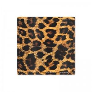 Sottobicchiere di leopardo