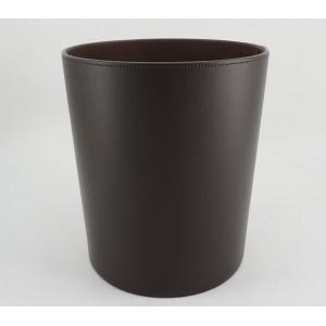Cestino di carta marrone scuro D25.5 x H28cm