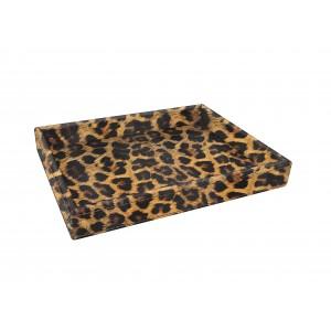 Vuoto tasca leopardo