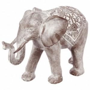 Elefante resina sbiancata H.40
